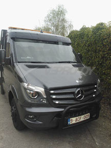 MB Sprinter 2006-, 2018- /VW Crafter 2006-2016, AURINKOSUOJA