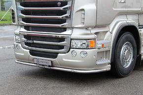 Scania R 2010-2013, Low bumber,PUSKURINSUOJARAUTA LED