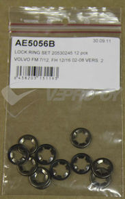 VOLVO FM/FH versio 2, LOCK RING SET