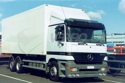 MB Actros MP1, AURINKOSUOJA