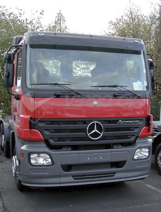 MB Actros MP2, AURINKOSUOJA